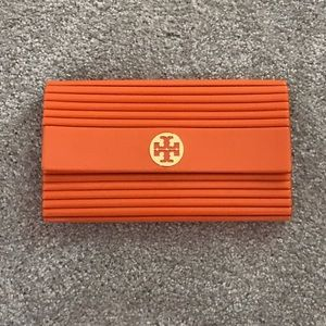 Tory Burch Orange Clutch